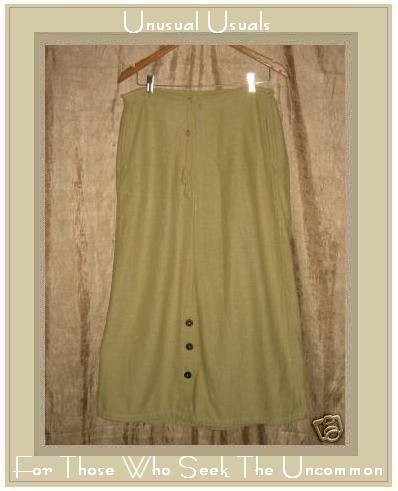 TRIBE Boutique Hand Woven Cotton Drawstring Skirt Large L