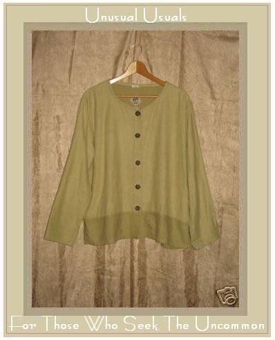 TRIBE Boutique Earthy Hand Woven Cotton Jacket Shirt Top Large L