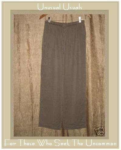 J. JILL Gray TENCEL Drawstring Pants Small Petite SP