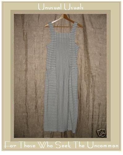 CLOTHESPIN Funky Boutique Long Striped Dress Small S