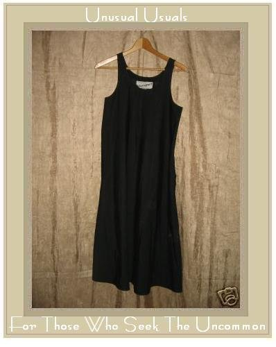 Blassport Long Black A-line Dress Size 8 Small S