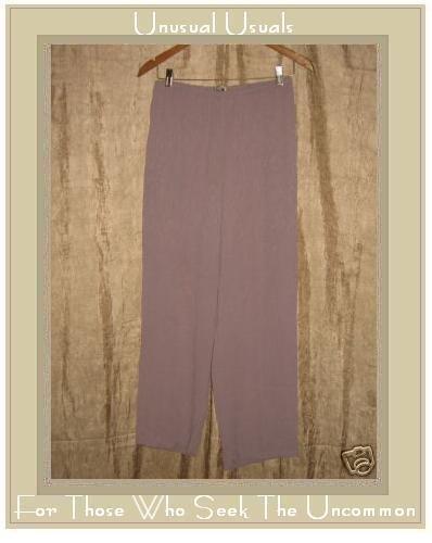 Putumayo Lavender Floral Rayon Pants Large L