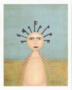 """Keys to the Kingdom"" Print by Artist Suzette Morgan"