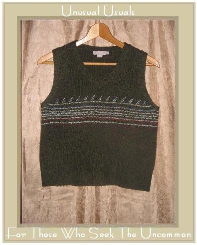 J.  Crew LambsWool Knit Pullover Sweater Vest Top Small S