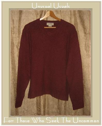 J.  Crew Russet Wool Knit Pullover Sweater Top Medium M