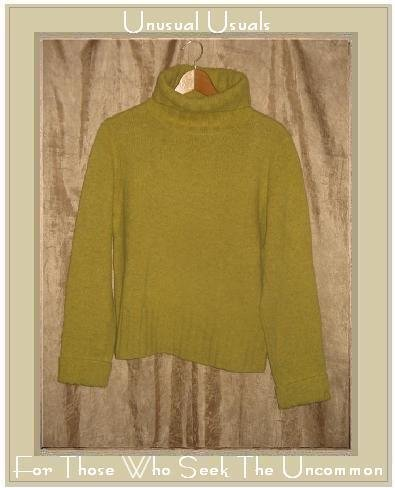 J. Crew Limey Wool Turtleneck Tunic Sweater Large L