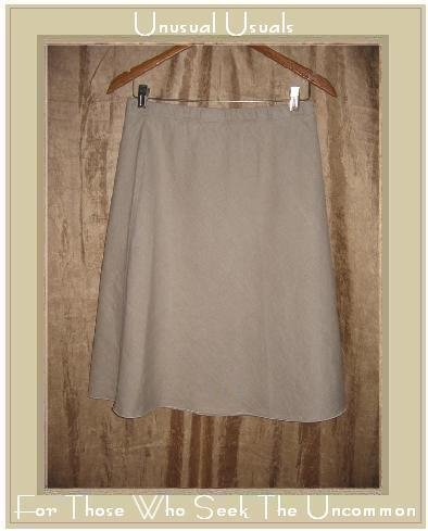 J. Jill short Full Fluttery LINEN SKIRT Small S