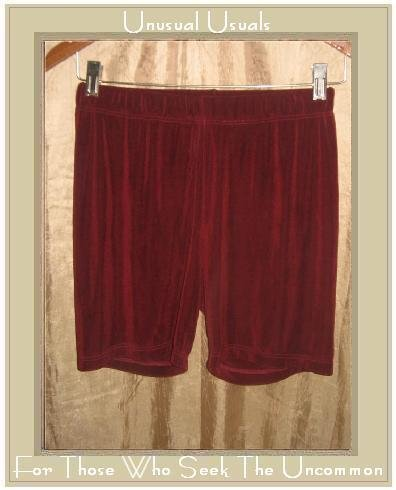 FLAX Foundations Slinky Dark Berry Shorts Jeanne Engelhart Small S