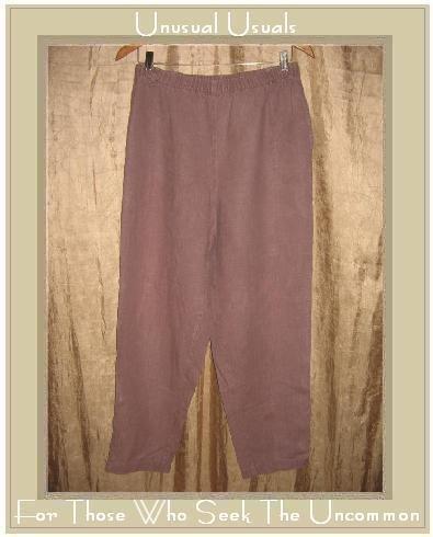 DOSA Mushroom LINEN Pants Size 3 Large L
