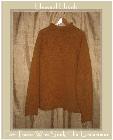 J. Crew Orange Spice Wool Turtleneck Tunic Sweater X-Large XL