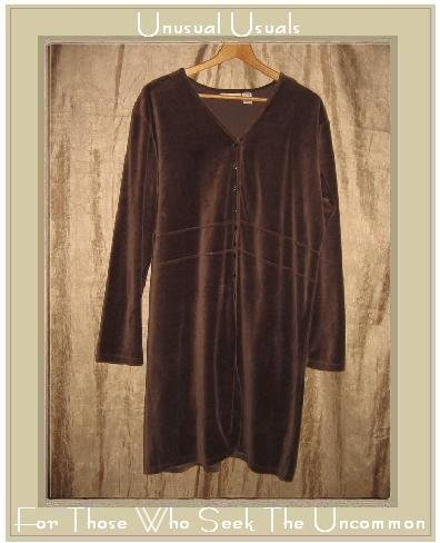J. JILL Soft Purple Velour Button Dress Jacket Large L