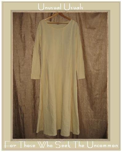 J. Jill LTD. Long Shapely Cream Knit Pullover Dress Large L