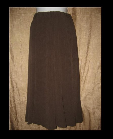 FLAX by Jeannge Engelhart Long Rayon Skirt Small S