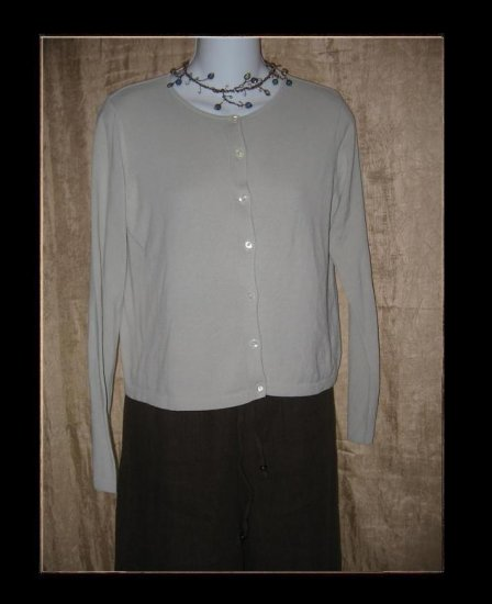 Banana Republic Light Button Cardigan Sweater Shirt Top Small S
