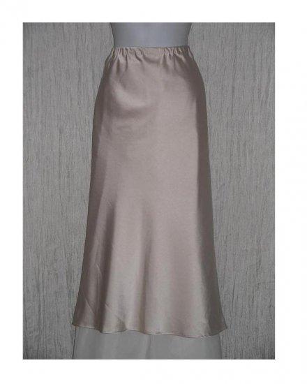 DREAM Long & Full Palest Pink Slinky Skirt Large L