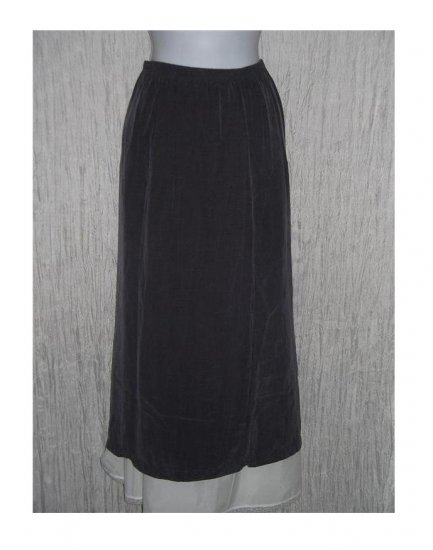 CUT LOOSE Long Purple Bemberg Rayon Skirt Small S
