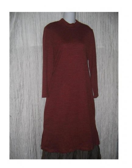 Coldwater Creek Soft Russet Sweater Dress Petite Medium PM