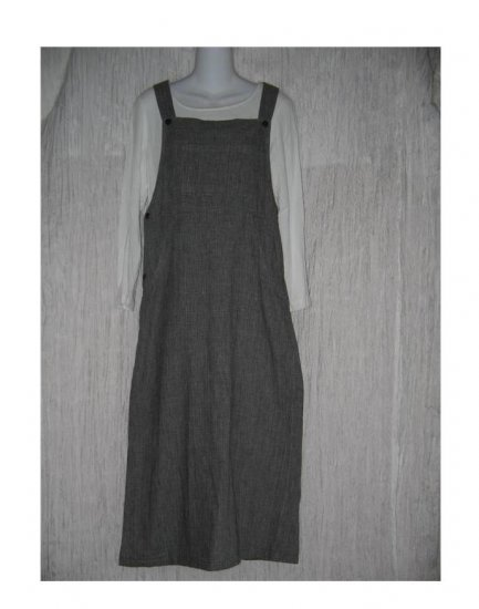 COLDWATER CREEK Adjustable Handwoven Cotton Jump Dress Petite Small PS