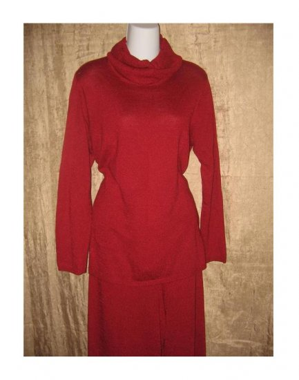 Coldwater Creek Red Turtleneck Tunic Sweater X-Large Petite PXL