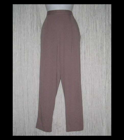 Weekenders Long Loose Shapely Mauve Knit Pants Large L / G