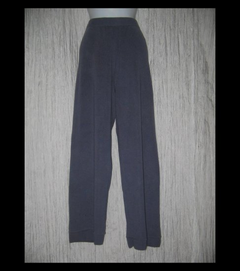 EILEEN FISHER Periwinkle Blue Wide Leg Merino Wool Pants Medium M