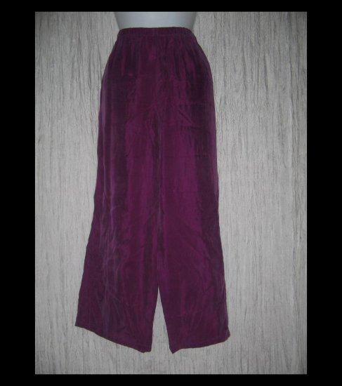 Monika Turtle Studio Boutique Soft Fuschia Rayon Wide Leg Pants X-Large XL
