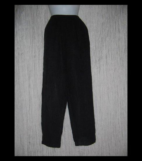 Cut Loose Boutique Long Black LINEN Pants One Size OS