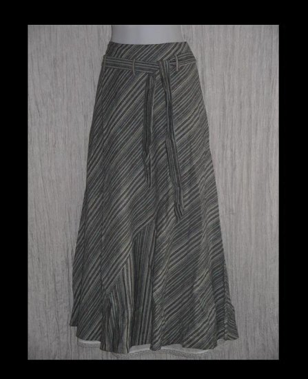 Junior House JH Collectibles Long & Full Sweeping Shapely Belted Skirt 12