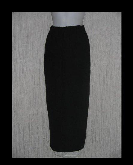 Stephanie Schuster for Princess Knitwear Long Black Knit Skirt XS