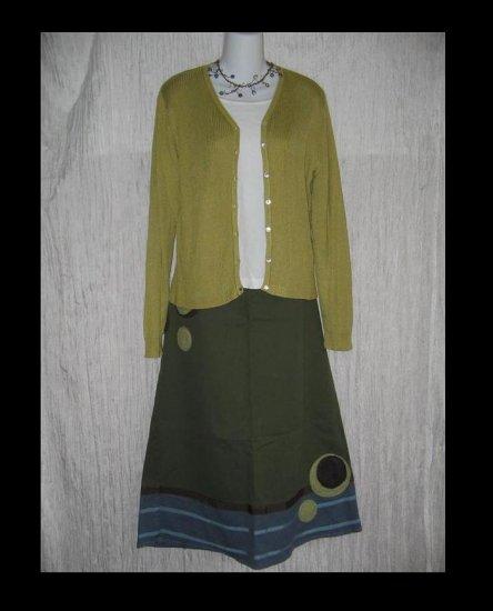 Banana Republic Silk Button Cardigan Sweater Shirt Top Large L
