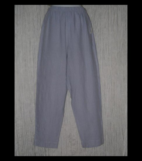 New HOT COTTON by Marc Ware Long Blue Linen Pants Medium M