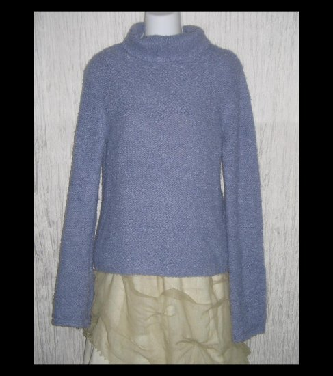 J. Crew Lavender Nubby Knit Turtleneck Tunic Sweater X-Large XL