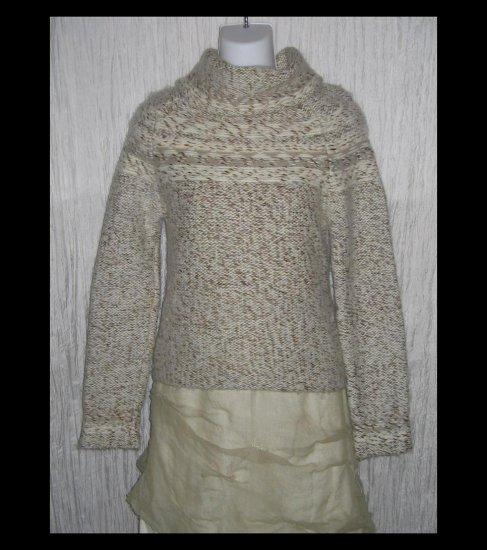 GAP Soft Wool Turtleneck Sweater Tunic Top Small S
