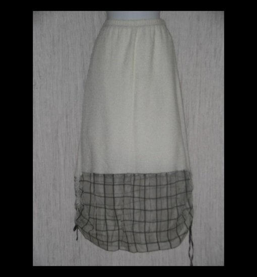 New Jackie Loves John Art to Wear Parachute Grid Skirt X-Large XL