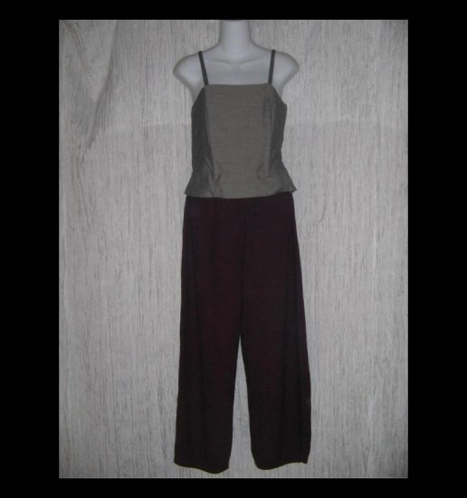Stephanie Schuster for Princess Knitwear Berry Wine Knit Pants Medium M