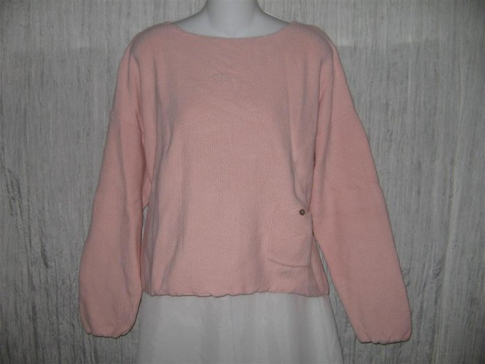 J. Jill Soft Pink Knit Pullover Sweater Top Large Petite LP