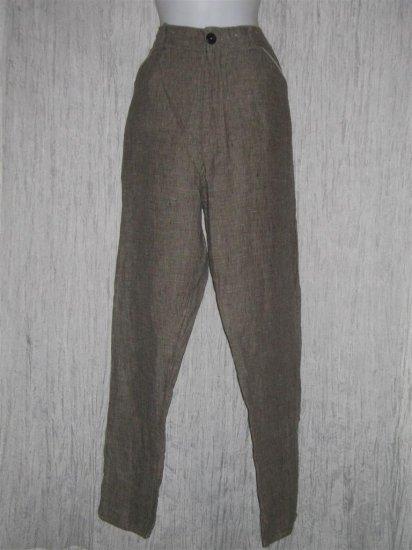 HAYMAKER Long Linen Pants Jeanne Engelhart FLAX Medium M