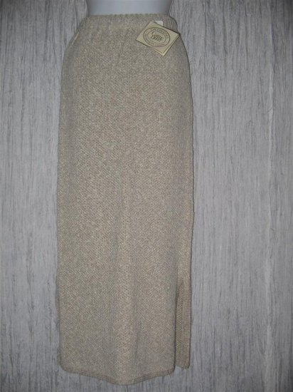 NWT Carraig Donn Long Cotton Linen Irish Knit Skirt Small S
