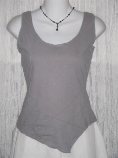 PANACEA Boutique Funky Seams Tank Shirt Shell Top Small S