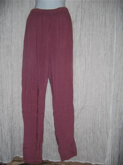 New JACKIE LOVES JOHN Long Berry Pants Boutique Size 2 Medium M