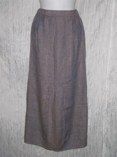 FLAX Purple Textured Bubble Skirt Jeanne Engelhart Petite P