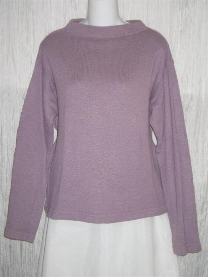 CUT LOOSE Soft Purple Knit Pullover Top Shirt Medium M