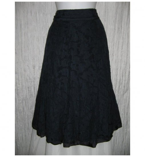 Talbots Full Fluttery Blue Layered Lace Skirt 12