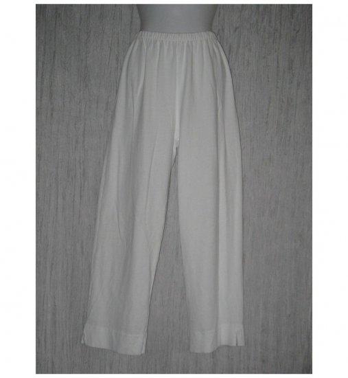 PACIFIC COTTON San Francisco White Knit Pants Small S