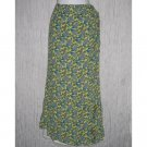FLAX by Jeannge Engelhart Long Tropics Wrap Skirt Small S