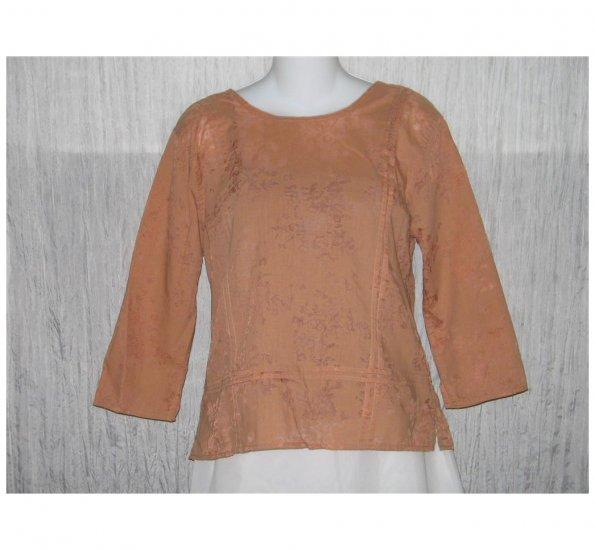 Christopher & Banks Apricot Pullover Shirt Tunic Top Medium M