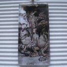 Alice in Wonderland Tile Necklace Mock Turtle & Gryphon
