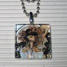 Art Necklace Alphonse Mucha Ilsee, Princesse de Tripoli
