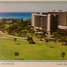 POSTCARD Hale Koa Military Hotel Aerial Print Honolulu Hawaii