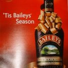 Tis Baileys Season Irish Crème Magazine Advertisement